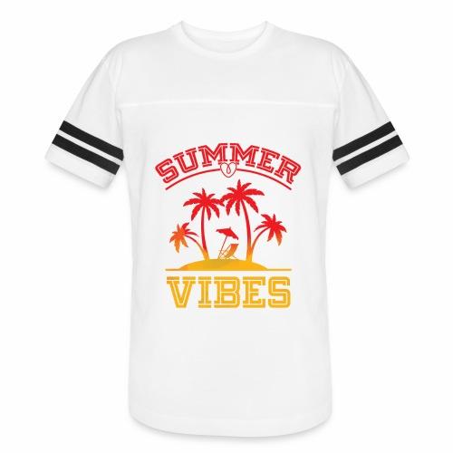 Summer Vibes - Vintage Sport T-Shirt
