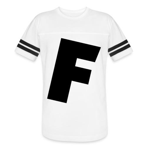 F slanted - Vintage Sport T-Shirt