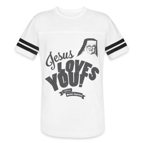 Classic Mother Angelica Dark - Vintage Sport T-Shirt