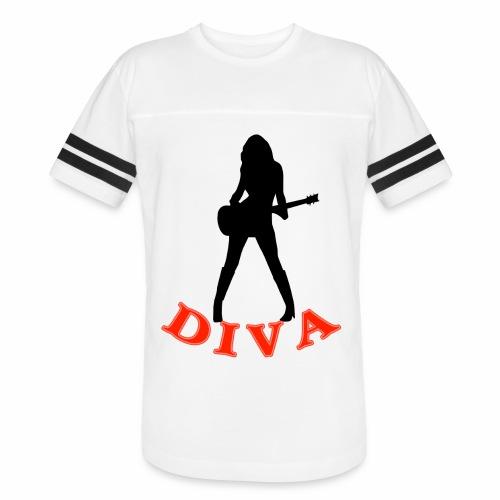 Rock Star Diva - Vintage Sports T-Shirt