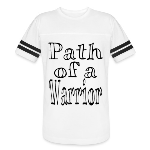 Path of a Warrior (White) - Vintage Sport T-Shirt