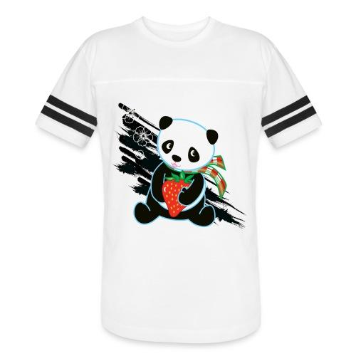 Cute Kawaii Panda T-shirt by Banzai Chicks - Vintage Sport T-Shirt