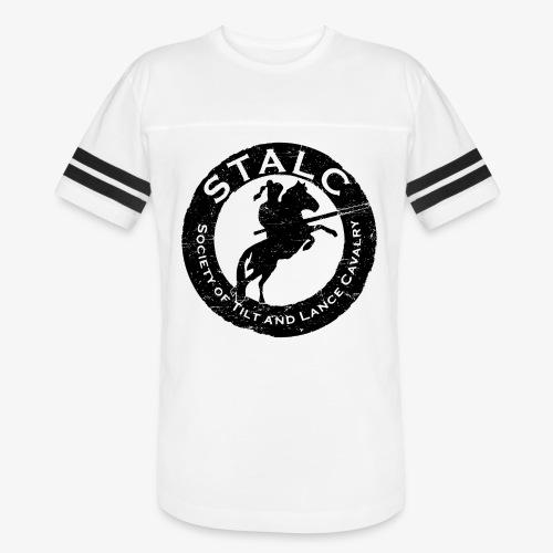 STALC Retro Logo BLACK - Vintage Sport T-Shirt