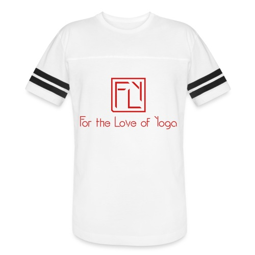 For the Love of Yoga - Vintage Sport T-Shirt