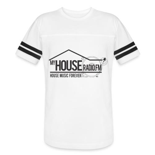My House Radio Black Logo - Vintage Sport T-Shirt