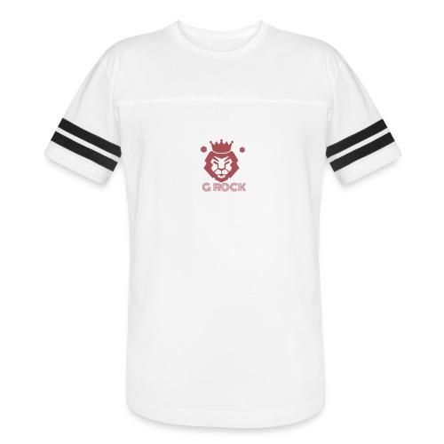 lion faced - Vintage Sport T-Shirt