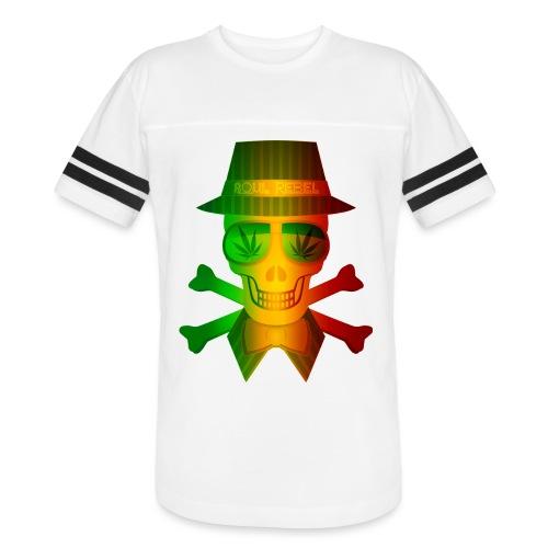 Rasta Man Rebel - Vintage Sport T-Shirt