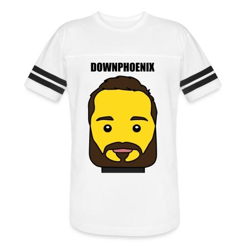 Downphoenix Face Mode - Vintage Sport T-Shirt