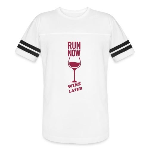Run Now Gym Motivation - Vintage Sport T-Shirt
