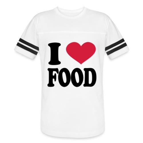 i love food - Vintage Sport T-Shirt