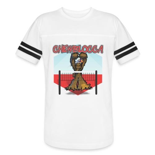 Chewblocca Volleyball Team Logo - Vintage Sport T-Shirt