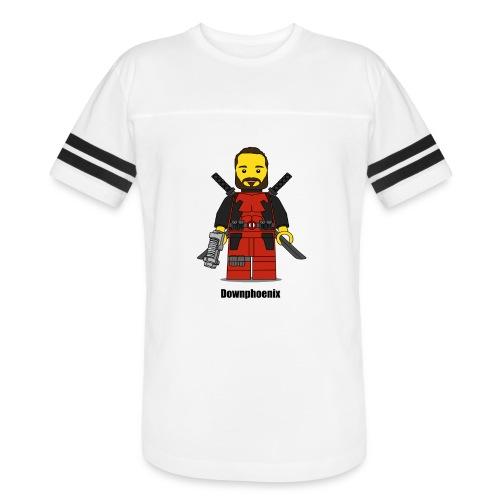 Downphoenix Character Logo - Vintage Sport T-Shirt