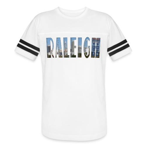 Raleigh Skyline Fall - Vintage Sport T-Shirt