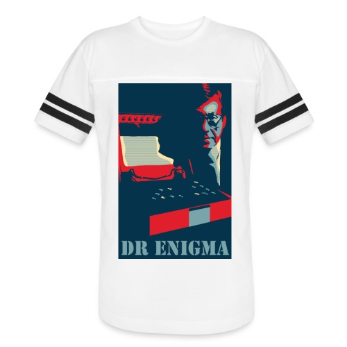 Dr Enigma+Enigma Machine - Vintage Sport T-Shirt