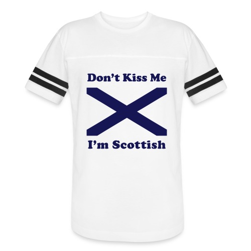 Don't Kiss Me, I'm Scottish - Vintage Sport T-Shirt