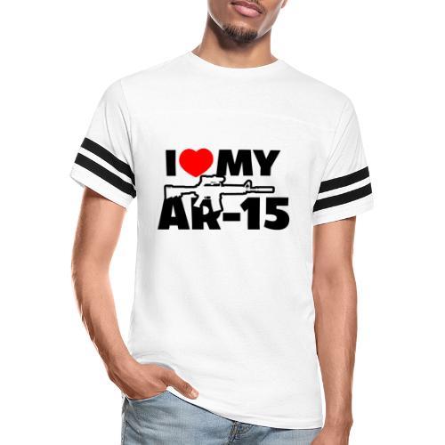 I LOVE MY AR-15 - Vintage Sport T-Shirt
