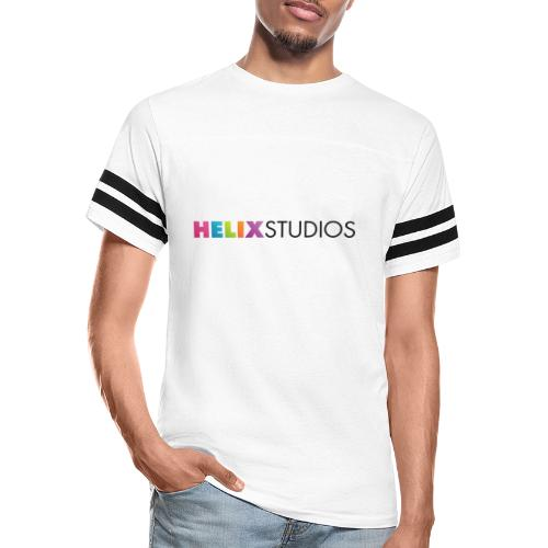Helix Studios Pride Logo - Vintage Sports T-Shirt