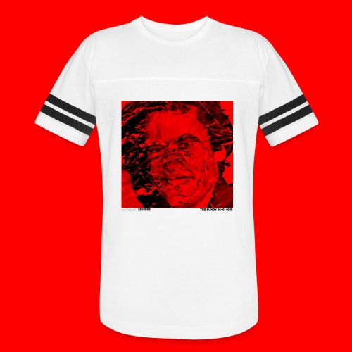Ted Bundy, portrait of a legend. - Vintage Sport T-Shirt