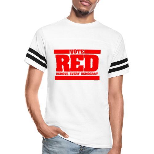 Remove every Democrat - Vintage Sport T-Shirt