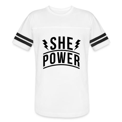 She Power - Vintage Sport T-Shirt