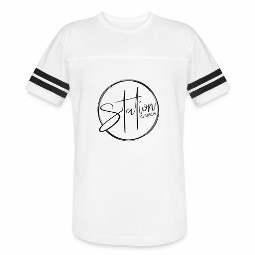 Black Logo - Vintage Sport T-Shirt