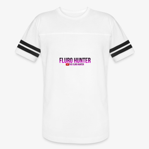 The Fluro Hunter Black And Purple Gradient - Vintage Sport T-Shirt
