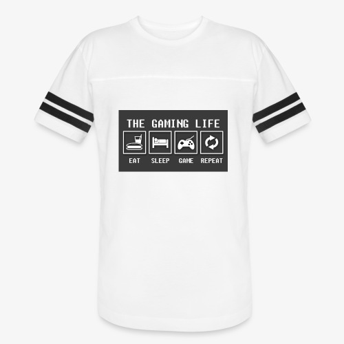 Gaming is life - Vintage Sports T-Shirt