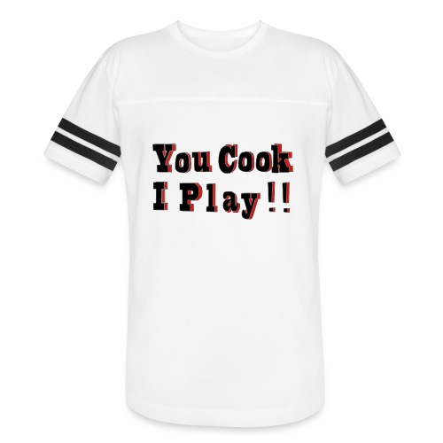 2D You Cook I Play - Vintage Sports T-Shirt