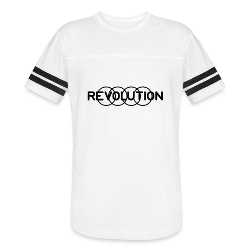 Revolution Black Logo - Vintage Sport T-Shirt