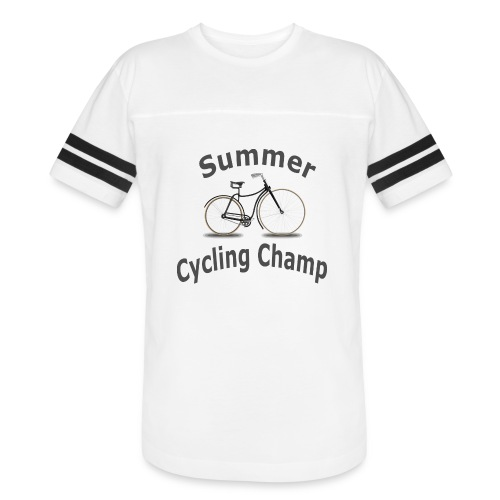 Summer Cycling Champ - Vintage Sport T-Shirt