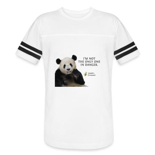 Endangered Pandas - Josiah's Covenant - Vintage Sport T-Shirt