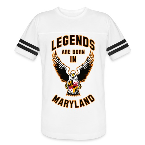 Legends are born in Maryland - Vintage Sport T-Shirt