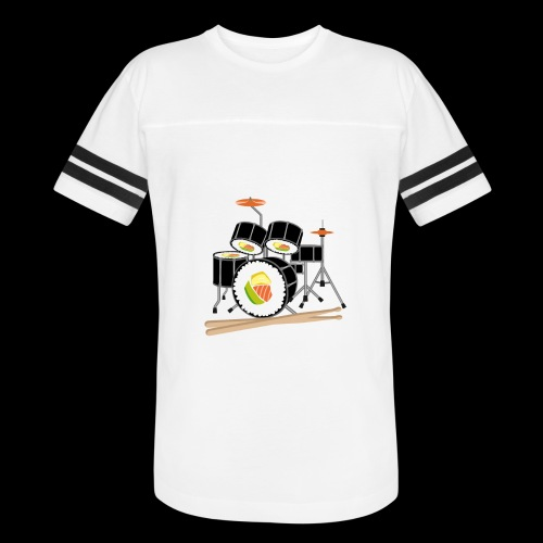 Sushi Roll Drum Set - Vintage Sport T-Shirt