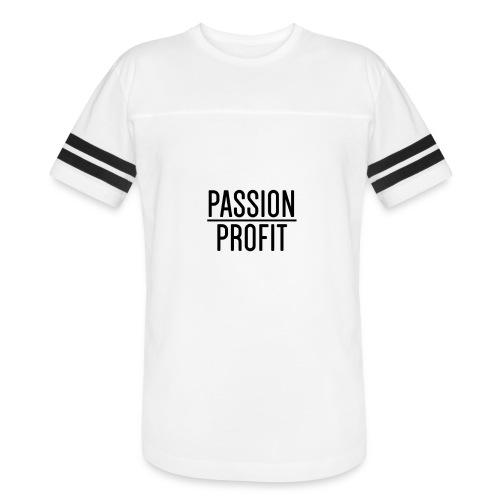 Passion Over Profit - Vintage Sport T-Shirt