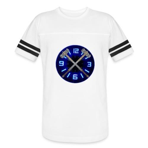 Hammer Time T-Shirt- Steel Blue - Vintage Sport T-Shirt