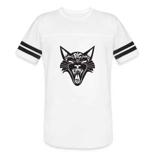 Big Kitty-Screaming Cat - Vintage Sport T-Shirt