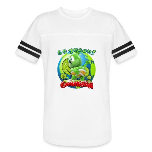 Gummibär Go Green Earth Day Earth - Vintage Sport T-Shirt