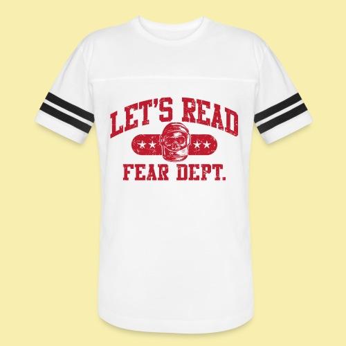 Athletic - Fear Dept. - RED - Vintage Sport T-Shirt