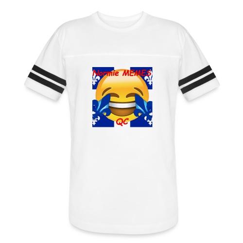 T-Shirt Normie Memes QC BLEU ROI - Vintage Sport T-Shirt