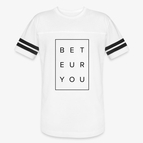 Black Puzzle Design - Be You, Be True - Vintage Sport T-Shirt