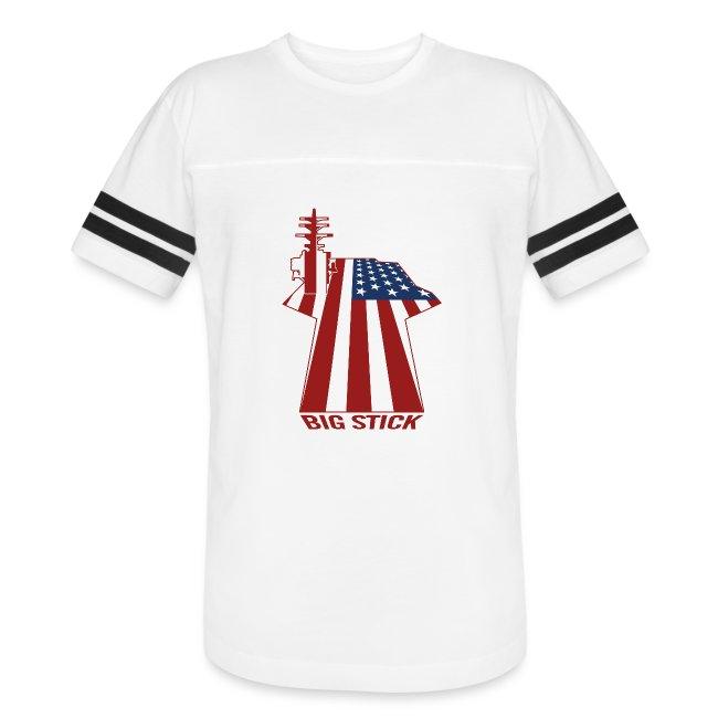 Big Stick Patriotic U.S. Aircraft Carrier