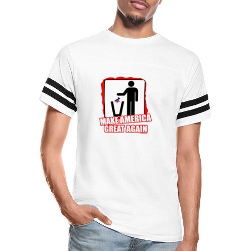 MAGA TRASH DEMS - Vintage Sport T-Shirt