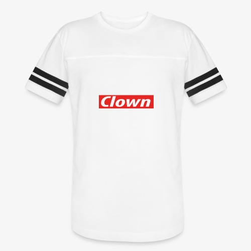 Clown box logo - Vintage Sport T-Shirt