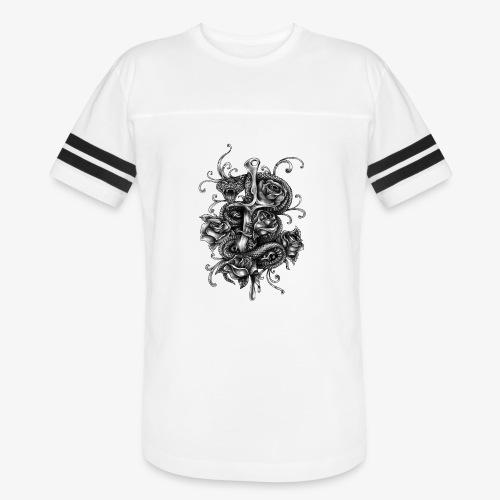 Dagger And Snake - Vintage Sport T-Shirt