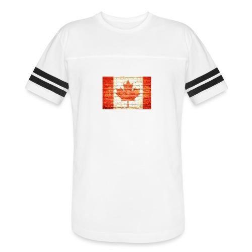 Canada flag - Vintage Sport T-Shirt