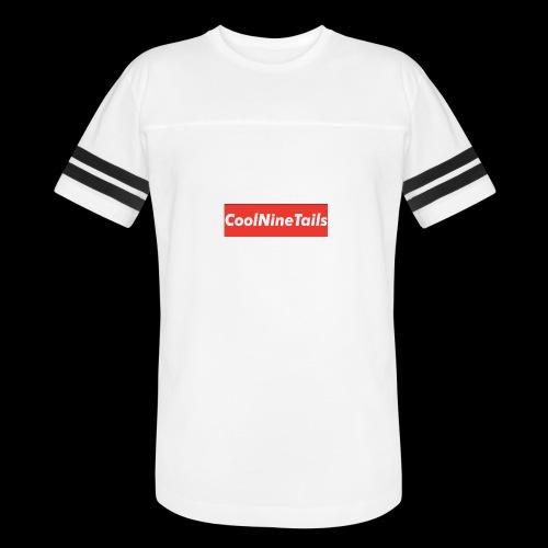 CoolNineTails supreme logo - Vintage Sport T-Shirt