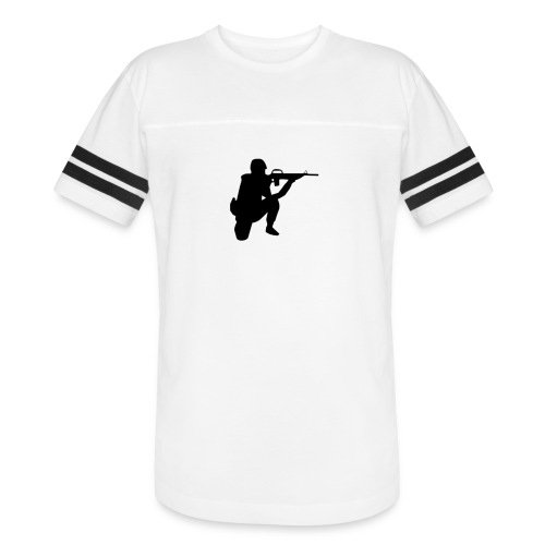 Infantry at ready for action. - Vintage Sports T-Shirt