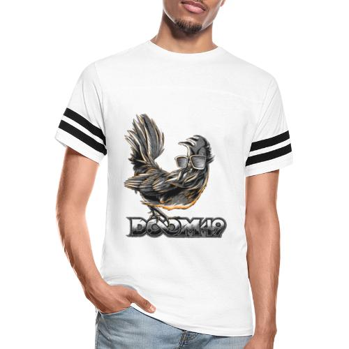 DooM49 Black and White Chicken - Vintage Sport T-Shirt