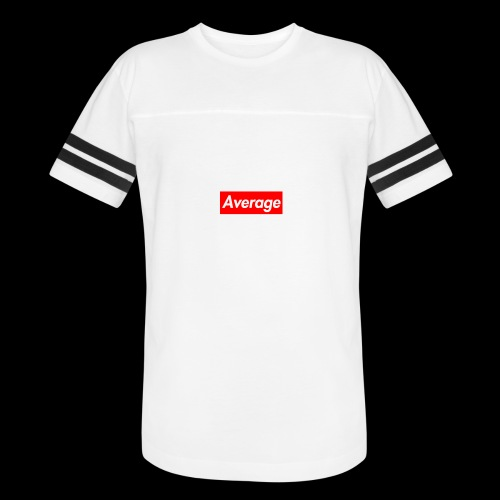 Average Supreme Logo Mockup - Vintage Sport T-Shirt