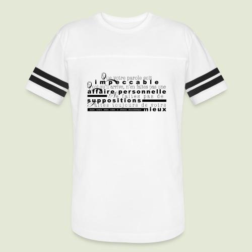 4 Accords Toltèques - Vintage Sport T-Shirt